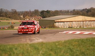 1994 British Touring Car Championship - Gabriele Tarquini with Alfa Romeo 155 in Thruxton.