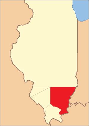Gallatin County, Illinois - Image: Gallatin County Illinois 1812