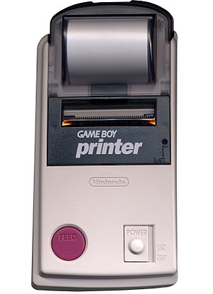 Game Boy Printer - The Game Boy Printer