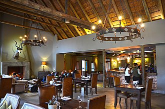 Game reserve - Lodge at Botlierskop Game reserve in South Africa (2015)