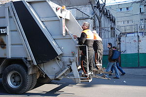 Waste management in Turkey - The municipal waste is collected on a regularly scheduled basis