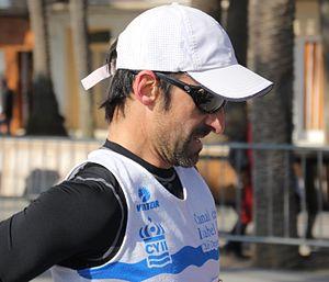 Jesús Ángel García Bragado - Image: García Bragado en el 80 Campeonato de Cataluña Individual de Marcha en Ruta, el 12 de febrero de 2012