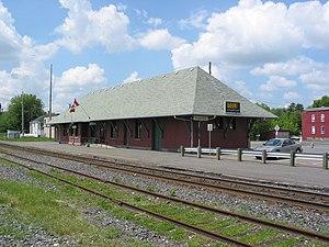 Drummondville - Drummondville railway station.