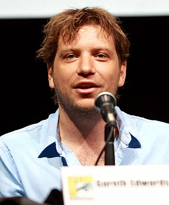 Godzilla (2014 film) - Director Gareth Edwards promoting the film at the 2013 San Diego Comic-Con International.