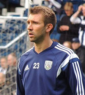 Gareth McAuley - McAuley with West Bromwich Albion in 2014