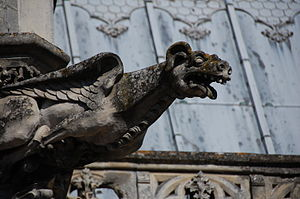 English: Gargoyle at Château d'Amboise Deutsch...