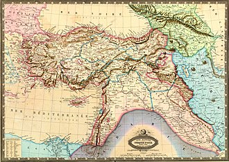 Map collection - Garnier, F. A., Turquie, Syrie, Liban, Caucase. 1862., from the David Rumsey Historical Map Collection.