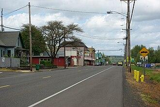 Gaston, Oregon - Image: Gaston Oregon