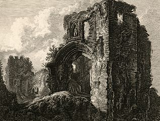 Gateway at Denbigh castle