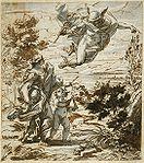 Gaulli, Giovanni Battista - Mercury Leading Geography - circa 1690.jpg