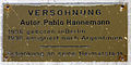 Gedenktafel Fehrbelliner Platz 4 (Wilmd) Versöhnung Pablo Hannemann.jpg