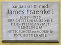 Gedenktafel Leonorenstr 17 (Lankw) James Fraenkel.JPG