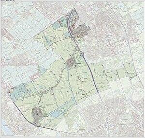 Midden-Delfland - Image: Gem Midden Delfland Open Topo