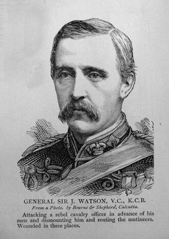 John Watson (Indian Army officer) - Image: General Sir J. Watson V.C., K.C.B