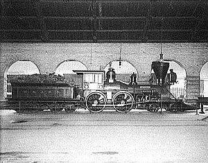 Western and Atlantic Railroad - Image: General locomotive c 1907