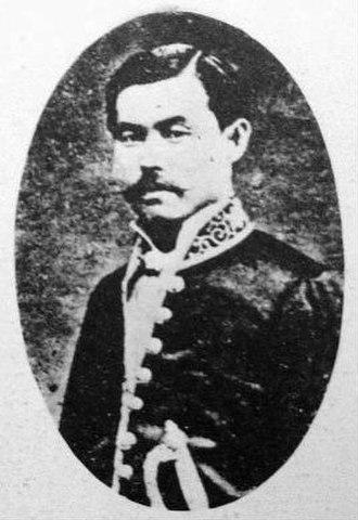 Rikken Teiseitō - Fukuchi Gen'ichirō, founder of the Rikken Teiseitō