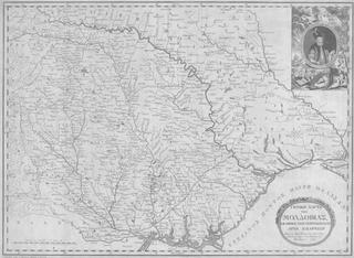 General Map of Moldavia