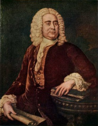 Cecilia Young - George Frideric Handel, a close friend of Cecilia and her husband Thomas Arne