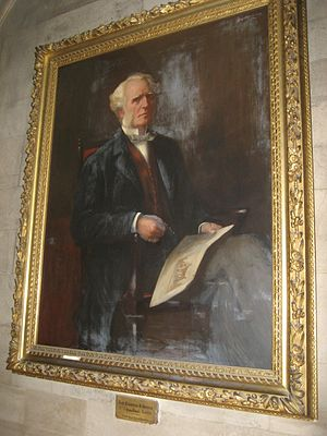 George Barclay Bruce - George B. Bruce  (Painting by James Coutts Michie in Westminster College, Cambridge)
