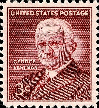 George Eastman - George Eastman commemorative issue, 1954