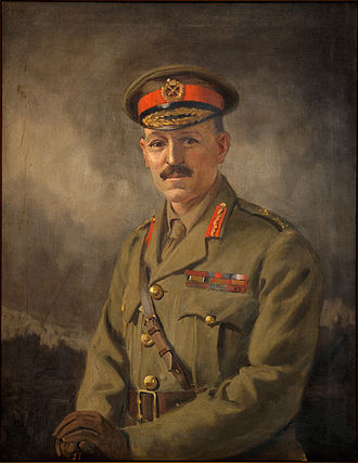 Andrew Hamilton Russell - Portrait painted by George Edmund Butler.