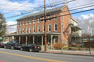 Alburtis, Pennsylvania - George F. Schlicher Hotel