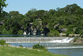 Blue Hole Park Is A Popular Swimming Area In Georgetown Located On The North