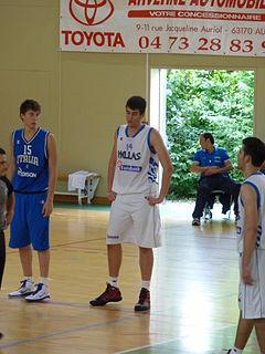 Greek professional basketball player