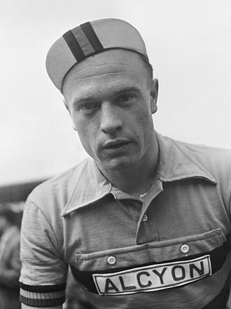 Alcyon (cycling team) - Germain Derycke at the 1954 Tour de France