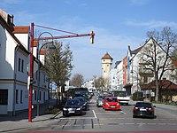 Gersthofen - Bahnhofstr v O, Ballonmuseum.jpg
