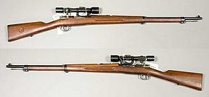 Gevär m-1941 m kikarsikte - 6,5x55mm - Armémuseum