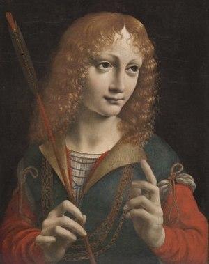 Gian Galeazzo Sforza - Gian Galeazzo Sforza, c.1483, by Giovanni Ambrogio de Predis