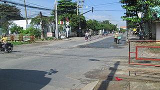 Dĩ An Town in Bình Dương, Vietnam