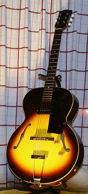 Gibson ES-125 - Image: Gibson ES 125 1955 000