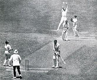 Arthur Gilligan - Image: Gilligan caught and bowled