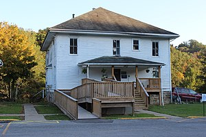 National Register of Historic Places listings in Gilmer County, West Virginia - Image: Gilmer County Poor Farm Infirmary