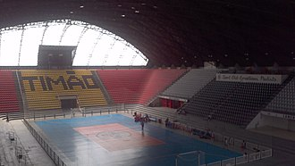 FIBA Intercontinental Cup - Ginásio Principal, where the 1965 FIBA Intercontinental Cup Test was held.
