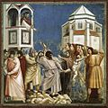 Giotto di Bondone - No. 21 Scenes from the Life of Christ - 5. Massacre of the Innocents - WGA09199.jpg
