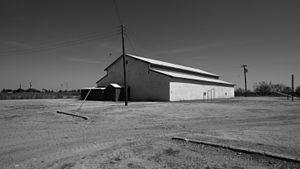 Girard, Texas - School gymnasium in Girard