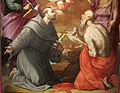 Girolamo macchietti e bottega, assunzione della vergine, 1577-78, da s. clemente a sociana (reggello), 03.JPG