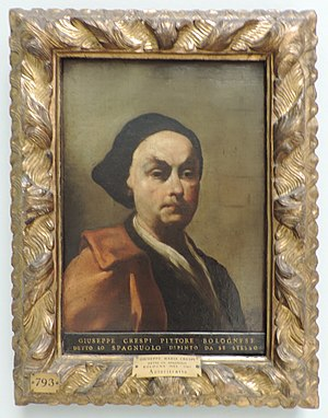 Giuseppe Crespi - Self-portrait (1725-1730), Pinacoteca di Brera