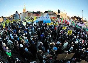 12 Dec. 2009, Copenhagen, Denmark - Global Day...