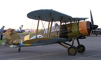 Gloster Gauntlet - Gloster Gauntlet in Kauhava, Finland at Midnight Sun Airshow 2006
