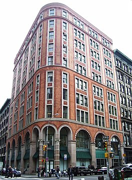 Goelet Building au 900 Broadway, dans le Flatiron District de Manhattan, New York City.