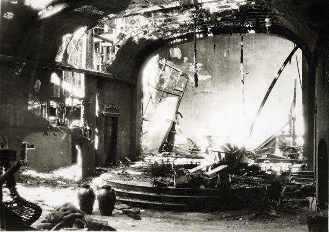GoldenBoughTheatreFire1935