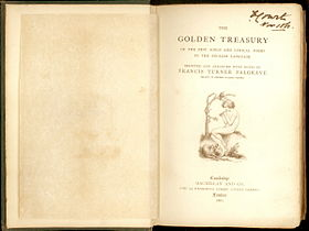 Frontispiece to Palgrave's Golden Treasury (1861).
