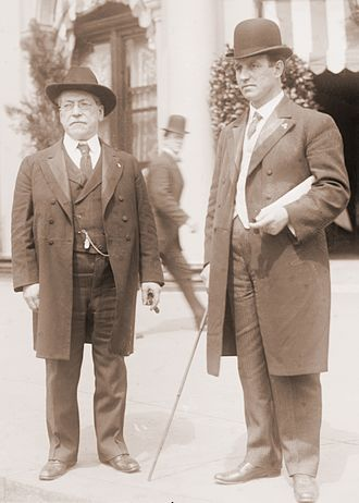 American Federation of Labor - Samuel Gompers with John Mitchell of the United Mine Workers of America.