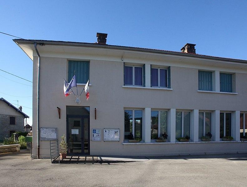 Mairie de Gonsans (Doubs).