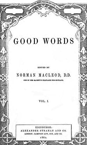 Good Words - Vol 1 title page, 1860.