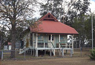 Goombungee, Queensland - Goombungee police station, 2014